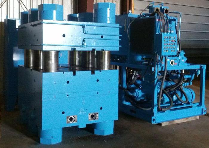 2,000 Ton Reed City 6 Post Up-Acting Hydraulic Press; P.O.R.