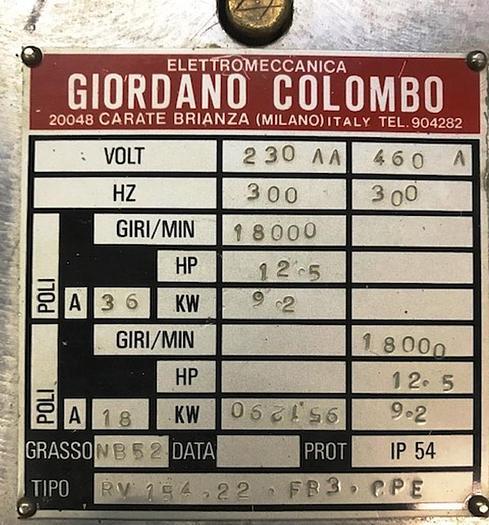 Giordano Colombo RV15.22.FR3.CPE
