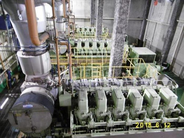 Used 2.75 MW 2001 Used Daihatsu 6DK-36 Diesel Generator