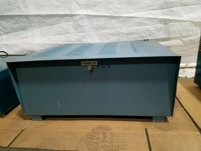 Used Rapid DC Power Supply 6 Volts 25 Amps Plating Rectifier 115 Volt in