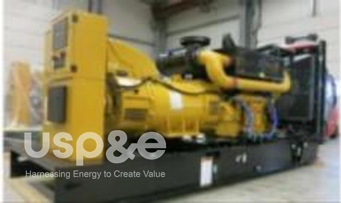 Used .60 MW 2020 USED CATERPILLAR C18 Lo-BSFC DIESEL GENERATOR SETS