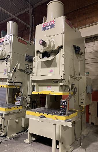 220 ton Niagara Gap Frame Mechanical Press