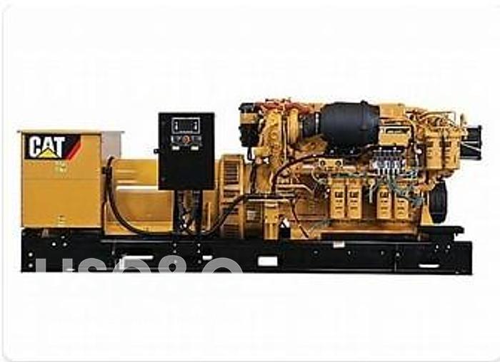 Used 1.2 MW 2008 NEW CATERPILLAR C32 SURPLUS MARINE GENERATOR SETS