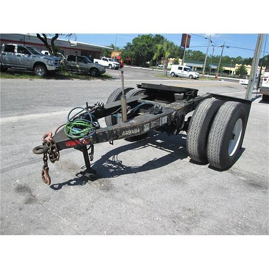 Used Trail Mobile Semi tow Dolly With Air Brakes
