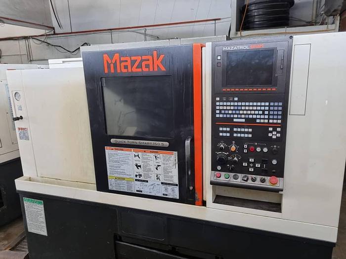 Used 2013 MAZAK QUICK TURN SMART 150S CNC TURNING LATHE MACHINE