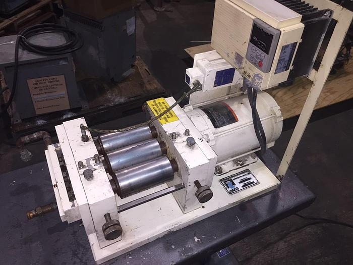 Used 2.5 in. x 5 in. ROSS THREE ROLL MILL (#8810)