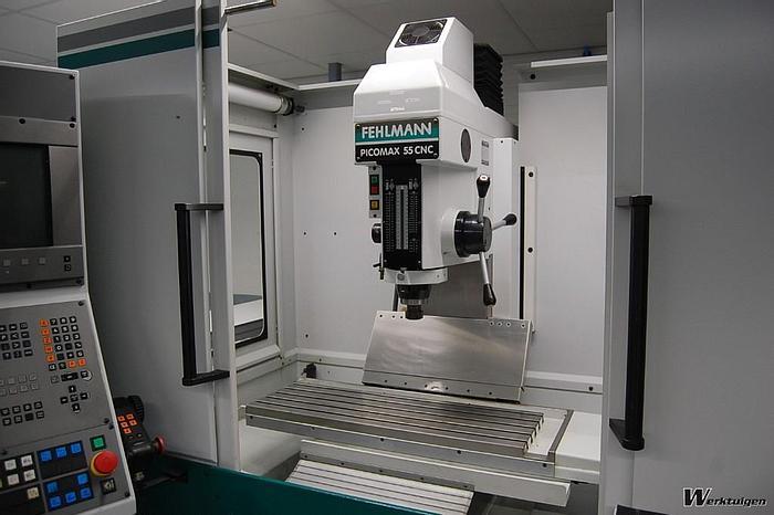 Used 2000 Fehlmann Picomax 55 CNC