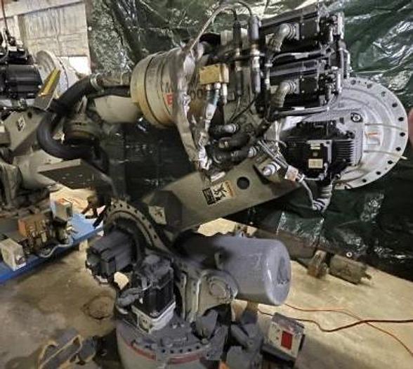 Used 2006 YASKAWA MOTOMAN ES200N 6 AXIS ROBOT 200KG X 2651MM WITH NX100 CONTOLLER