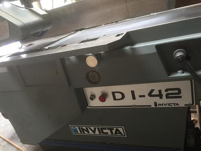 Used Invicta DI-42 Planer