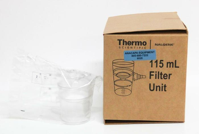 Thermo Scientific 124-0045 115 mL 0.45 MIC Filter Unit NEW LOT of 12 (6028)