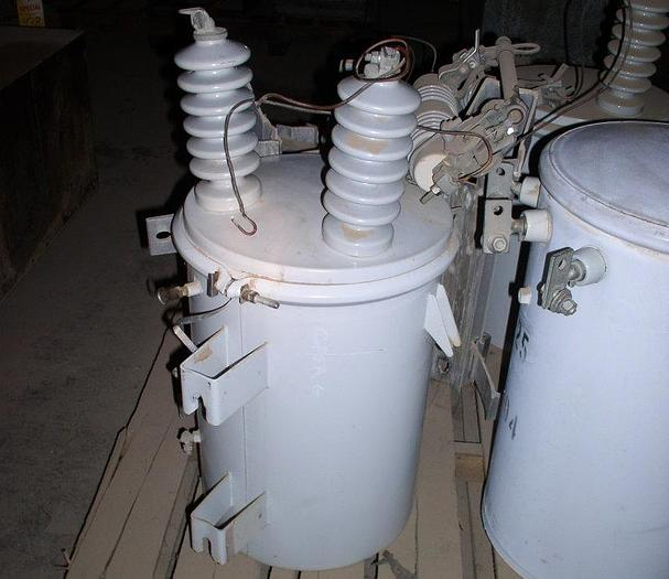 Used 10 kVA Pole-Mount Transformer