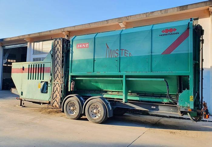 Usata 2000 Impianto mobile di Vagliatura a Tamburo, JENZ modello TWISTER