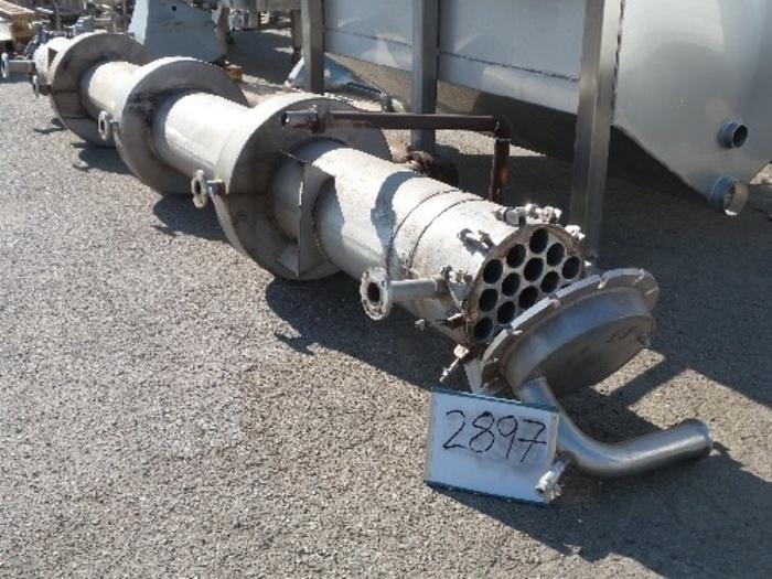FEMCO Stainless Steel Tube-in-Shell Heat Exchanger #2897