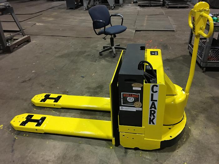 Used CLARK ELECTRIC PALLET JACK MODEL P40C W/ CHARGER  4,000 LB.