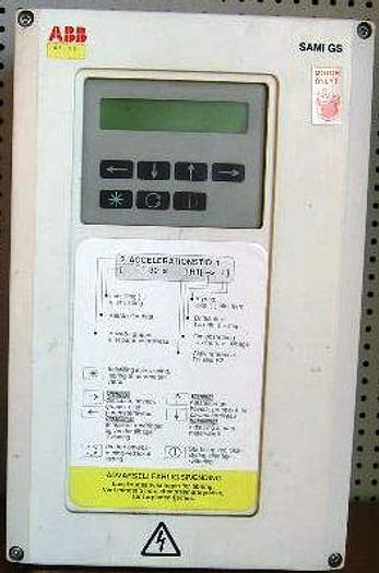 Used ABB frequency converter, type ACS501-004-3-00P200000. No. 5319668.