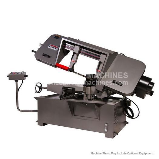 JET HBS-1220MSA Semi-Automatic Mitering Variable Speed Bandsaw 424476