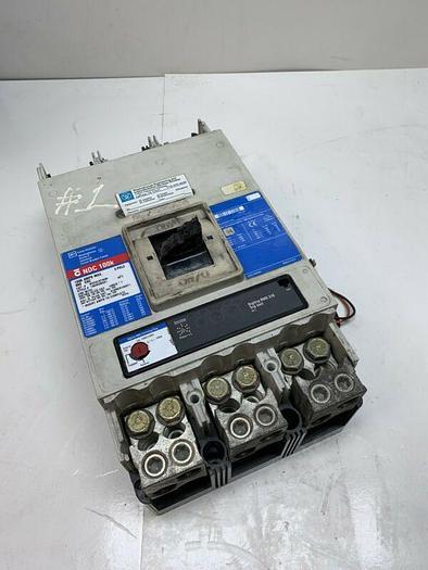 Used Cutler Hammer NDC312T33W 3P 600VAC Westinghouse Series C Circuit Breaker