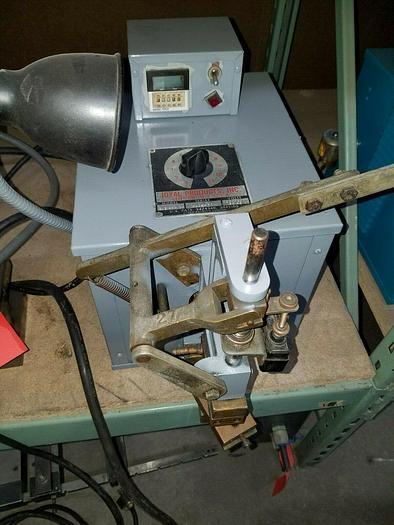 Used Joyal Spot Welder Welding Machines Benchtop 2.2 KVA