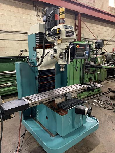 """Used 10"""" X 50"""" SOUTHWESTERN INDUSTRIES, TRAK CNC BED MILL, 2007"""