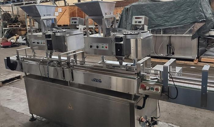Used CVC model 1000 Dual Head tablet counter system
