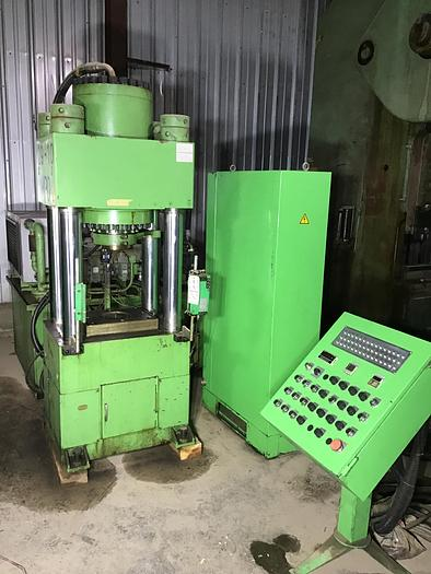 Used 200 Ton Dongsung Hydraulic Shell Press; 4-Post