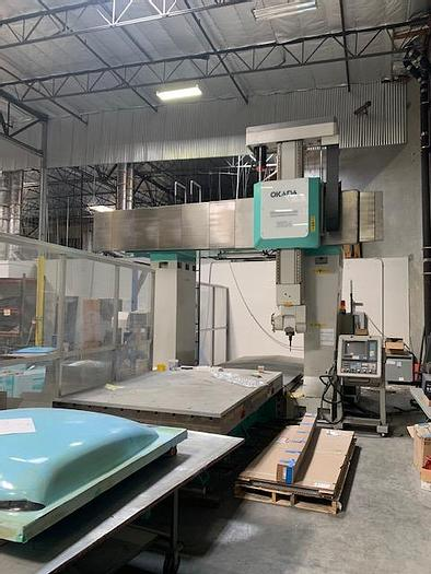 Used Okada 5 Axis Router Machining Center #5834