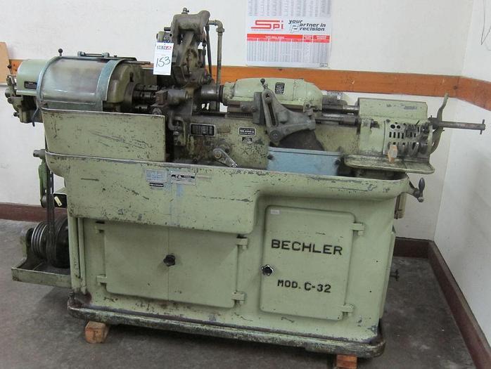 Bechler Model C-32 Swiss Screw Machine