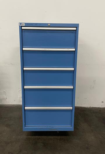 Used Lista 1 Row 5 Drawer Storage Cabinet  Various Drawer Sizes
