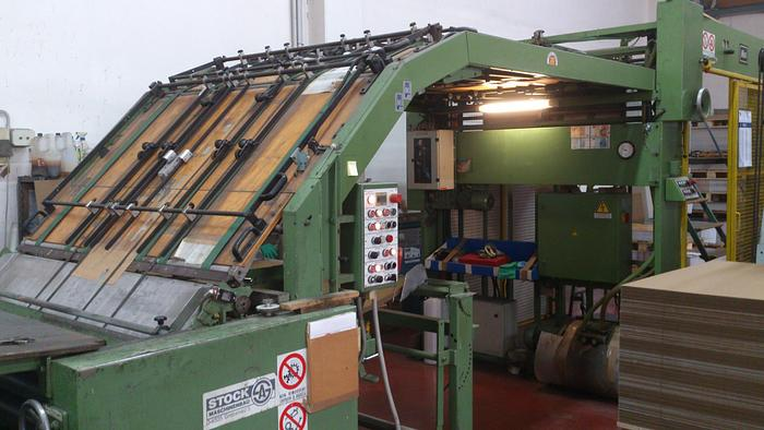 STOCK D-6325 – LAMINATING MACHINE (micro, corrugated, cartonboard)