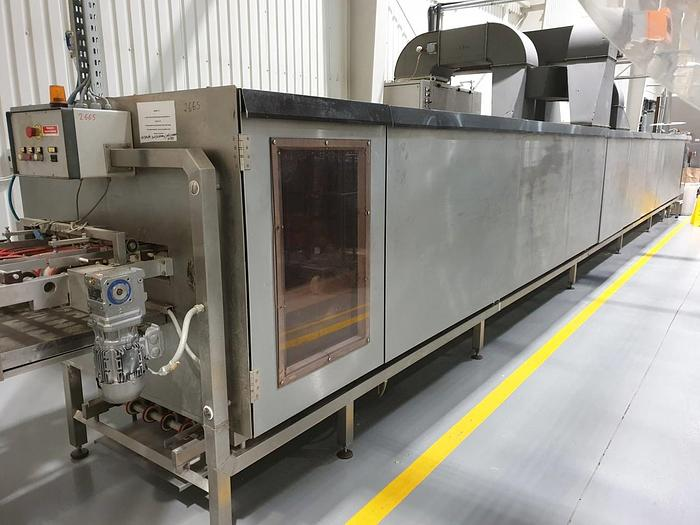 Haas wafer sheet conditionning / cooling tunnel