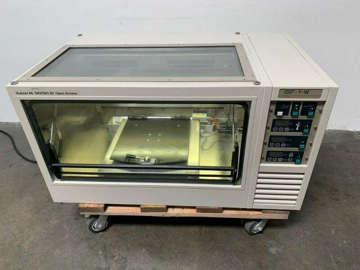 Used Adolf Kuhner ISF-1-W Incubator & Shaker w/ Humidity Temp Range -15°C to 80°C