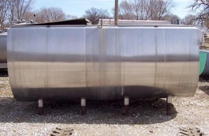 Used 1850 GLOBE Flat top STORAGE - Flat top tanks Equipment