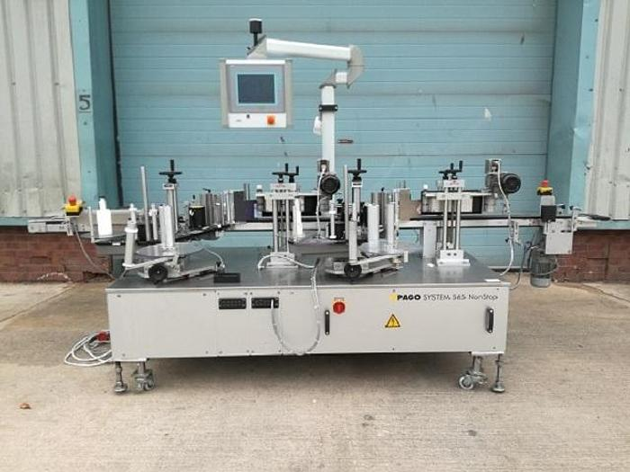 Used PAGO System 565 Wrap Labeller