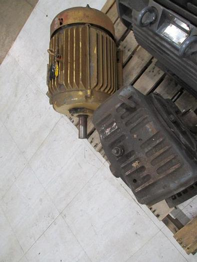 Used Motor and Gearbox