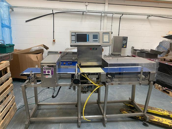Used 2007 ITEC / Fortress Phantom ITEC-D30-COMBO metal detector checkweigher