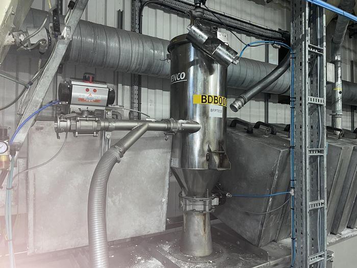 Used JENCO C36 - 30MC Vacuum Conveyor Hopper Loader