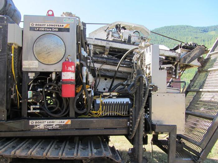 HB13022 Longyear LF230 Core Drill (Track Mounted)