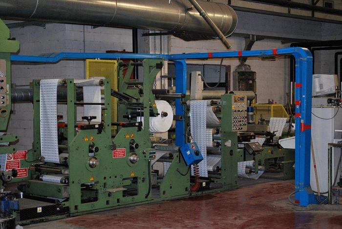 CMR Rotolabel 500 – 6 col. rotogravure printing machine