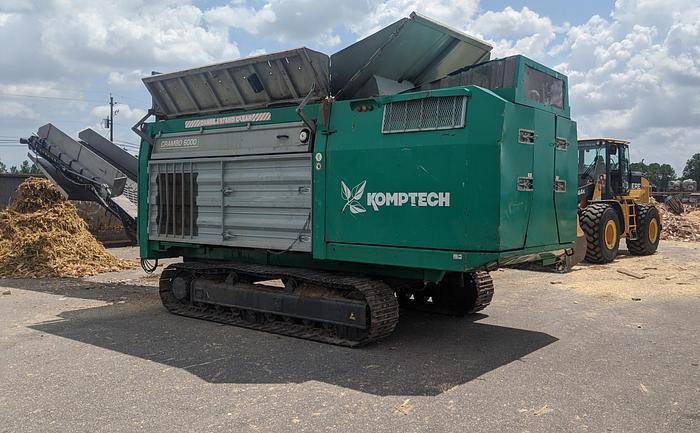 Used 2014 KOMPTECH CRAMBO 6000