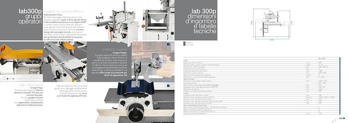 2020 Scm group LAB 300 Plus