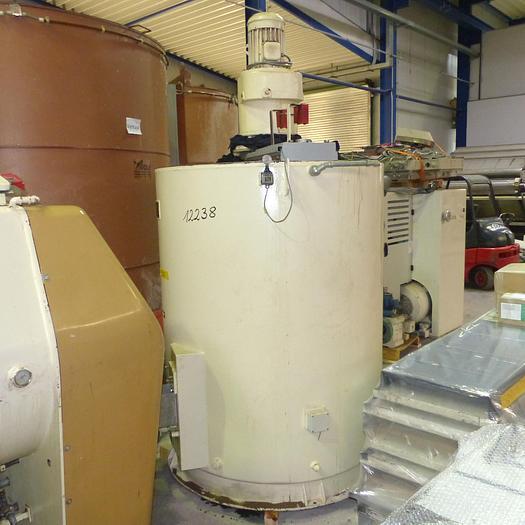 Gebraucht gebr. Rührwerksbehälter Fabrikat RASCH Type VD-30 für ca. 3.000 kg Nutzinhalt.