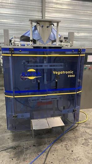 Used Ilapak vegatronic 2000 vertical bagger