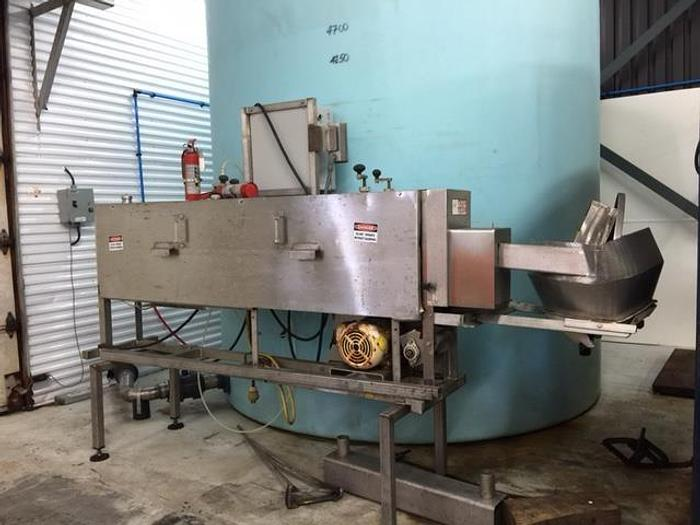 Used URSCHEL VSC FOOD SLICER for PICKLES & LONG GOODS 730C VSC