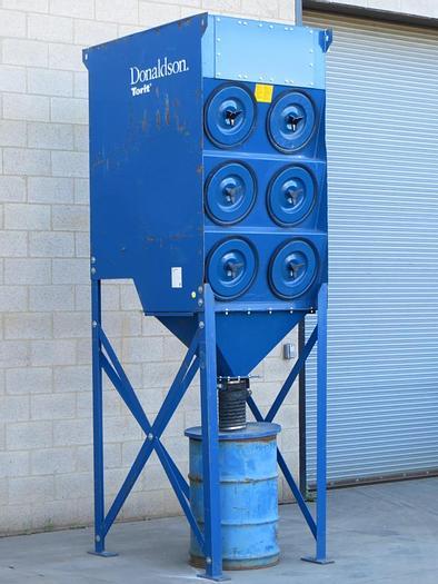 Refurbished DONALDSON TORIT DFT3-6 - 3,000 CFM CARTRIDGE TYPE DUST COLLECTION SYSTEM (#9946)