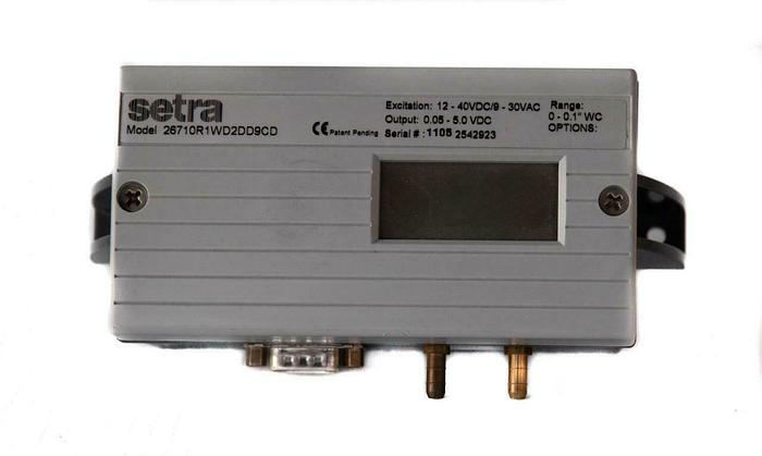 """Used Setra 26710R1WD2DD9CD Pressure Transducer 0-0.1"""" USED (7555) W"""