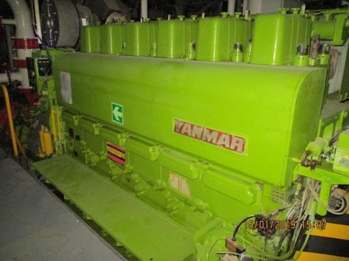 Used 1.92 MW 2005 Used Yanmar 6EY26 Diesel Generator