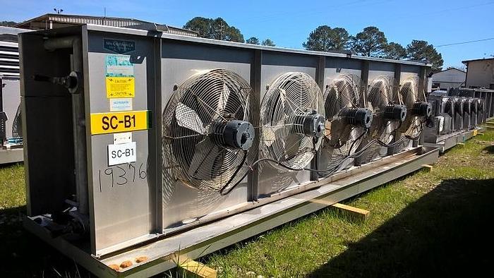 Used McCormack Ammonia Evaporator; Md#75SE64/16GBAIG-X-Q-U-LEFT