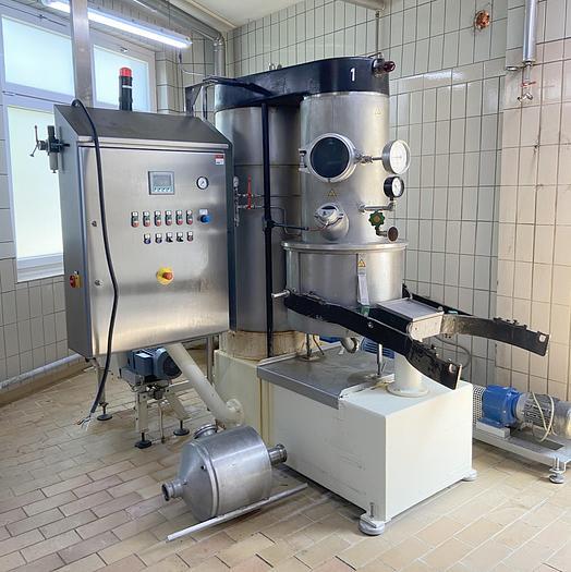 Gebraucht geb. automatische Vakuum-Kochmaschine OTTO HÄNSEL Type Sucromat,  Baujahr 1981