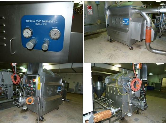 Used AMFEC 210 Meat Processing