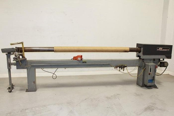 """Used 120"""" APPLETON CORE CUTTER MDL. S"""